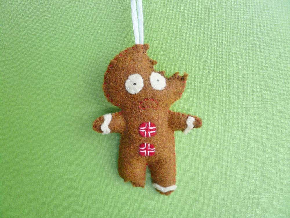 Funny Gingerbread Man ornament