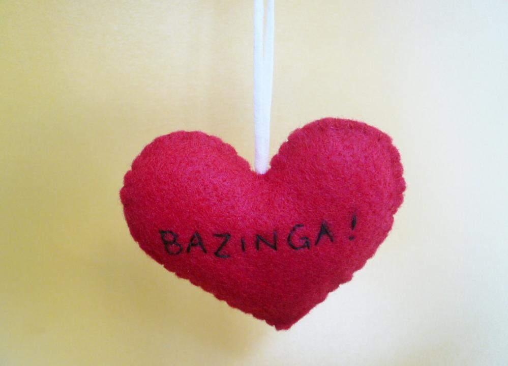 Bazinga Ornament Funny