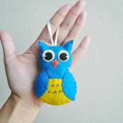 Owl Ornament Handmade