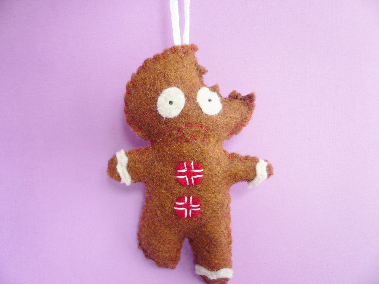 gingerbread man ornament funny christmas ornaments - Gingerbread Man Christmas Decorations